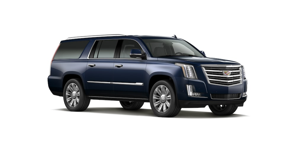 Cadillac Escalade 2020, SUV en color Dark Blue Metallic